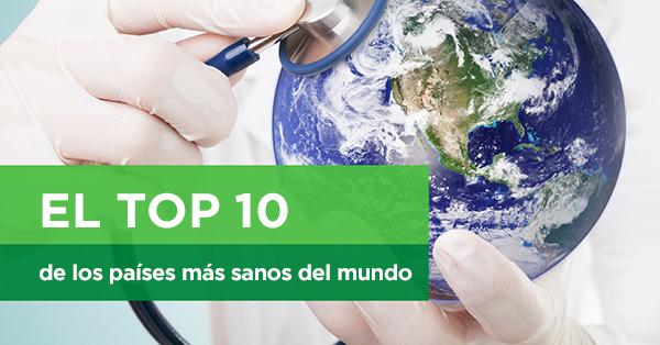 Top 10 de los países más saludables