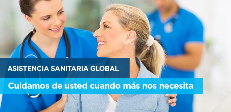Asistencia sanitaria global: cuidamos de usted cuando más nos necesita