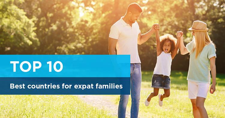 Principales 10 países para familias de expatriados